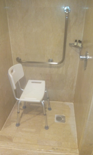 pullman shower